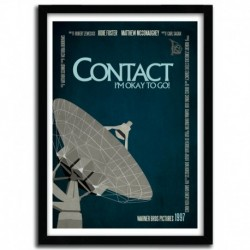 Affiche CONTACT by AYCAN YILMAZ