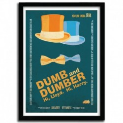 Affiche DUMB AND DUMBER by AYCAN YILMAZ