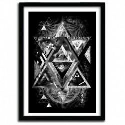 Affiche EYESOSCELES B by QETZA